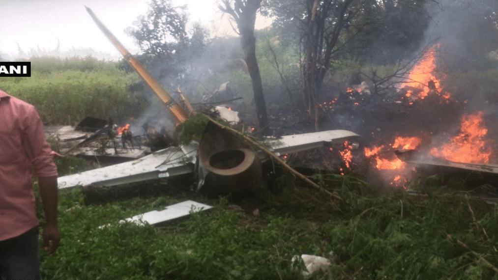 IAF Training Aircraft Crashes Near Hyderabad,  Pilot Safe