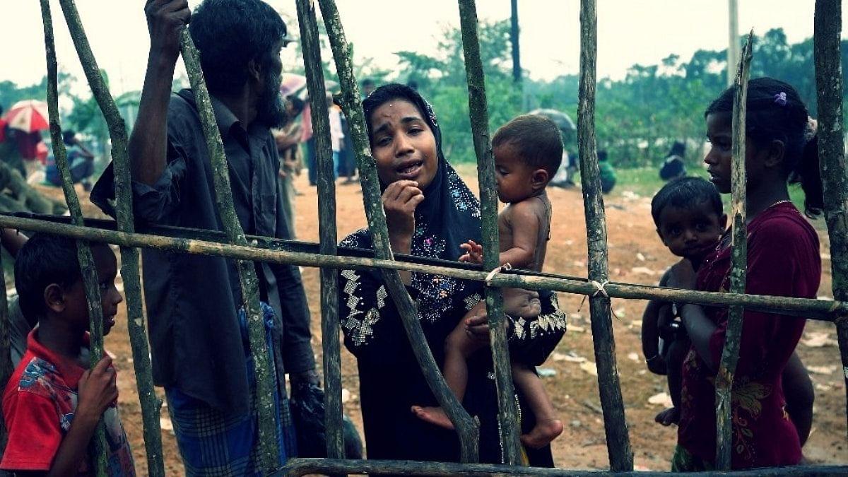 File image of Rohingya refugees.