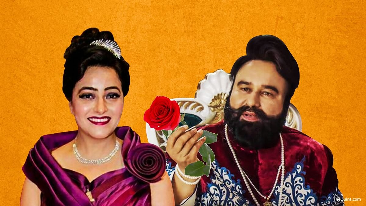 Gurmeet Ram Rahim and Honeypreet Insan.
