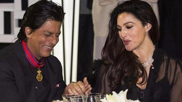 SRK met Monica Bellucci in 2015.
