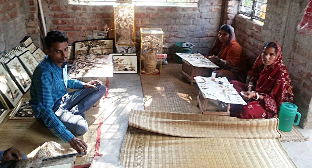The workshop of Karthik Kulia.