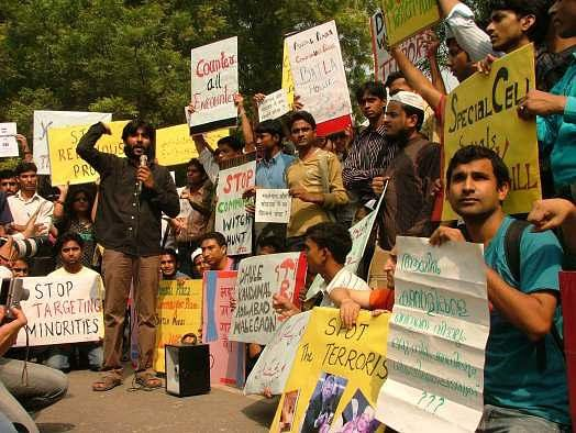A Citizens' March to Parliament called by Jamia Teachers' Solidarity Group to demand a Judicial probe into the Batla House 'Encounter'.