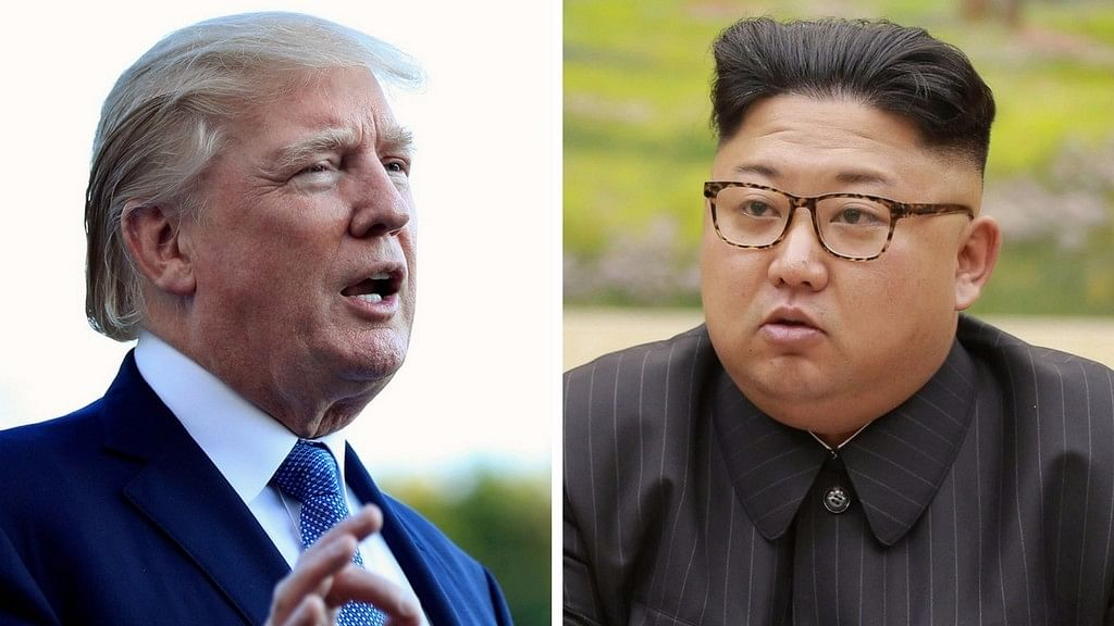 US President Donald Trump and North Korean leader Kim Jong-Un.