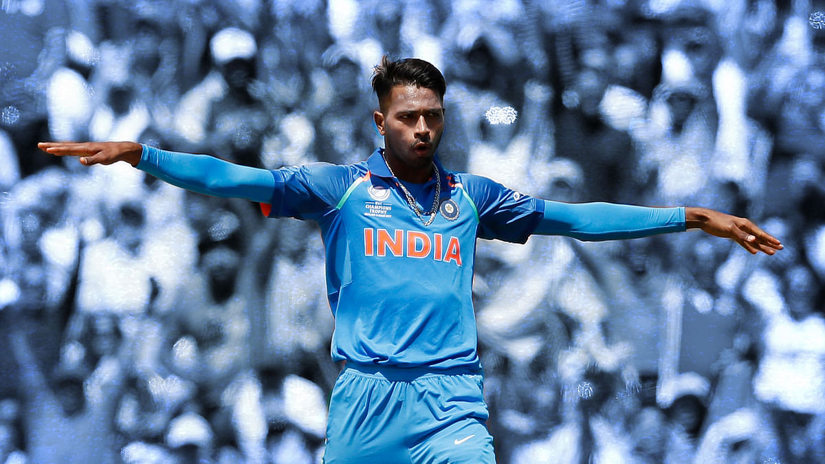 File picture of Indian cricketer Hardik Pandya.