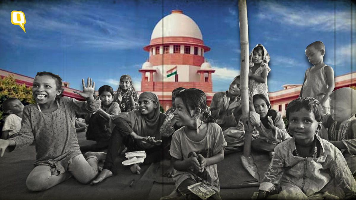 The fate of these Rohingya children in Delhi lies in the Supreme Court's hands.