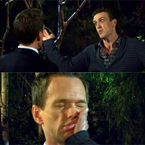 The slap bet episode on <i>How I Met Your Mother </i>