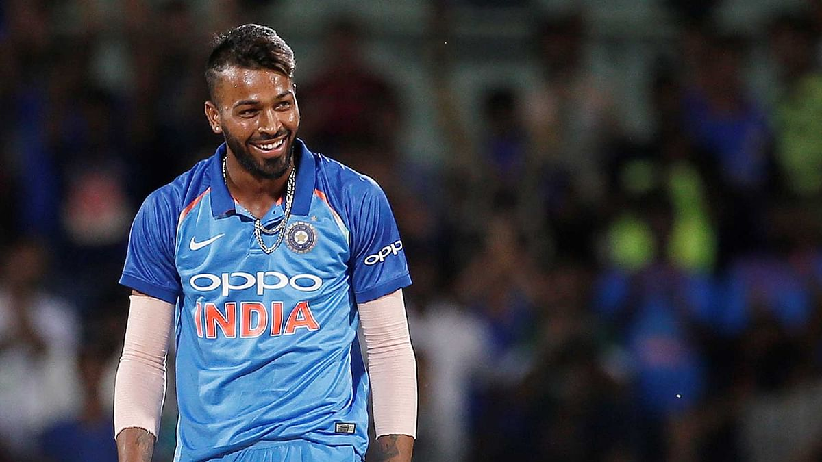 Hardik Pandya is currently the highest-scorer of the India-Australia ODI series.