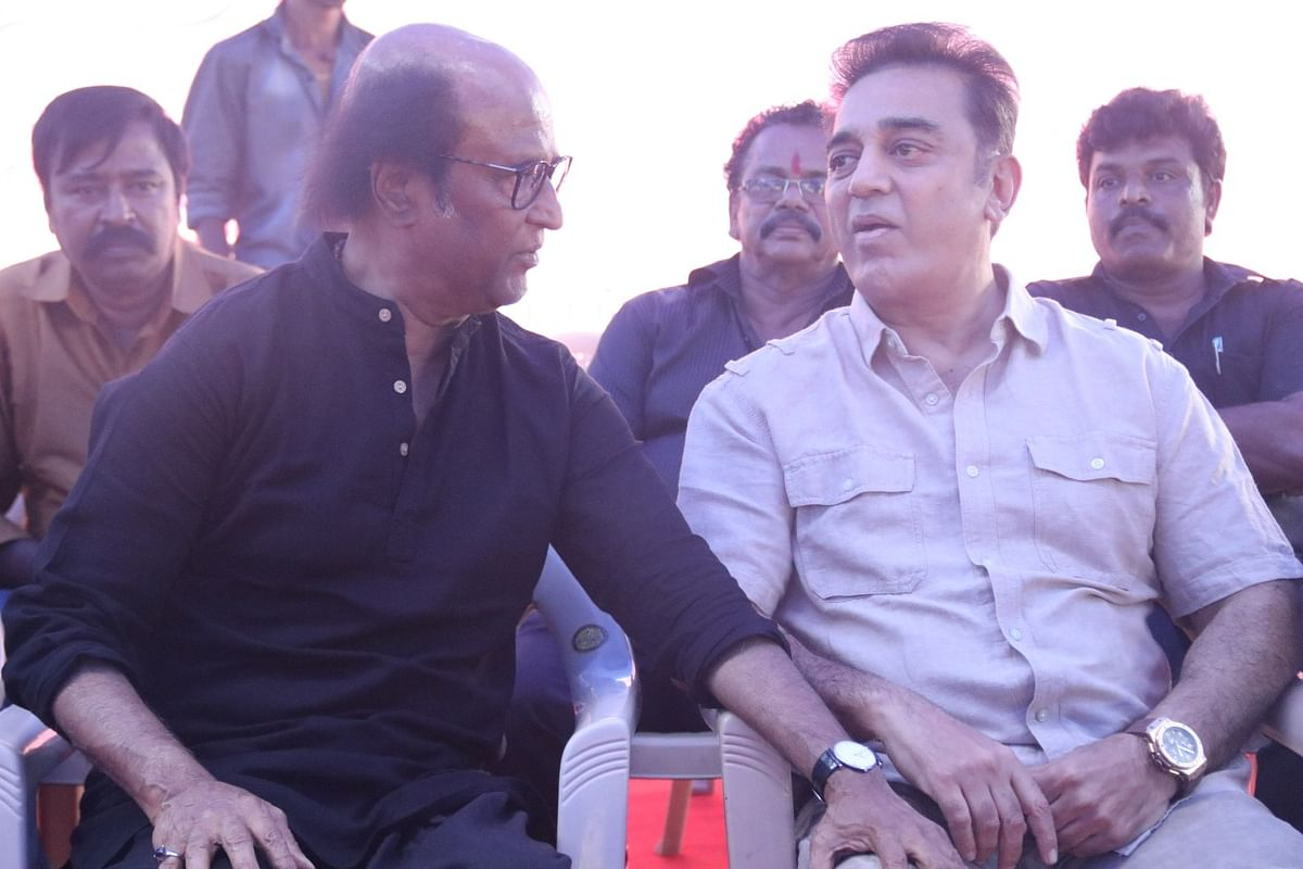 Kamal Haasan has given confusing signals in the past regarding his political leanings.