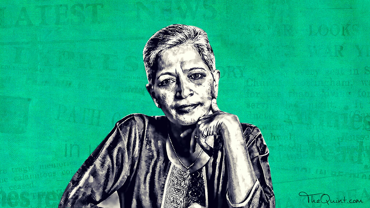 The tribute Rajghatta posted on Facebook is a glimpse into the person Lankesh was and what she stood for.