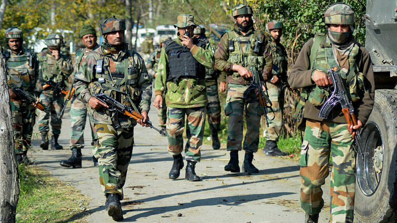 During searches, the militants opened fire at the security forces who retaliated, leading to a gunfight. Image used for representational purposes.