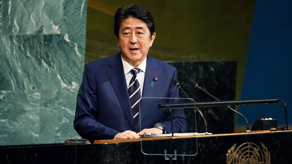 Japanese Prime Minister Shinzo Abe said on Wednesday that countries need to unite to enforce sanctions and apply pressure on North Korea.