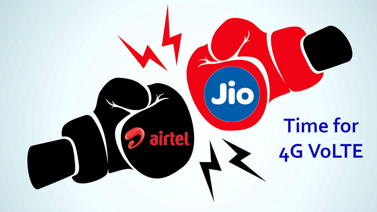Airtel is finally set to challenge Jio's VoLTE monopoly.