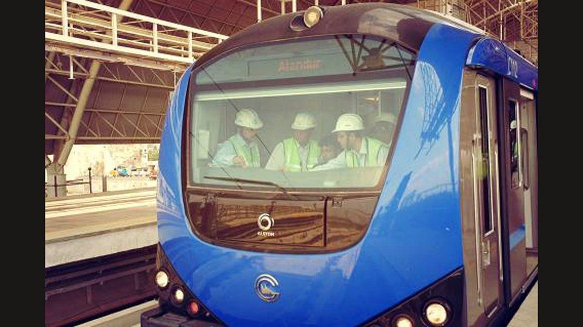 File photo of Chennai Metro.