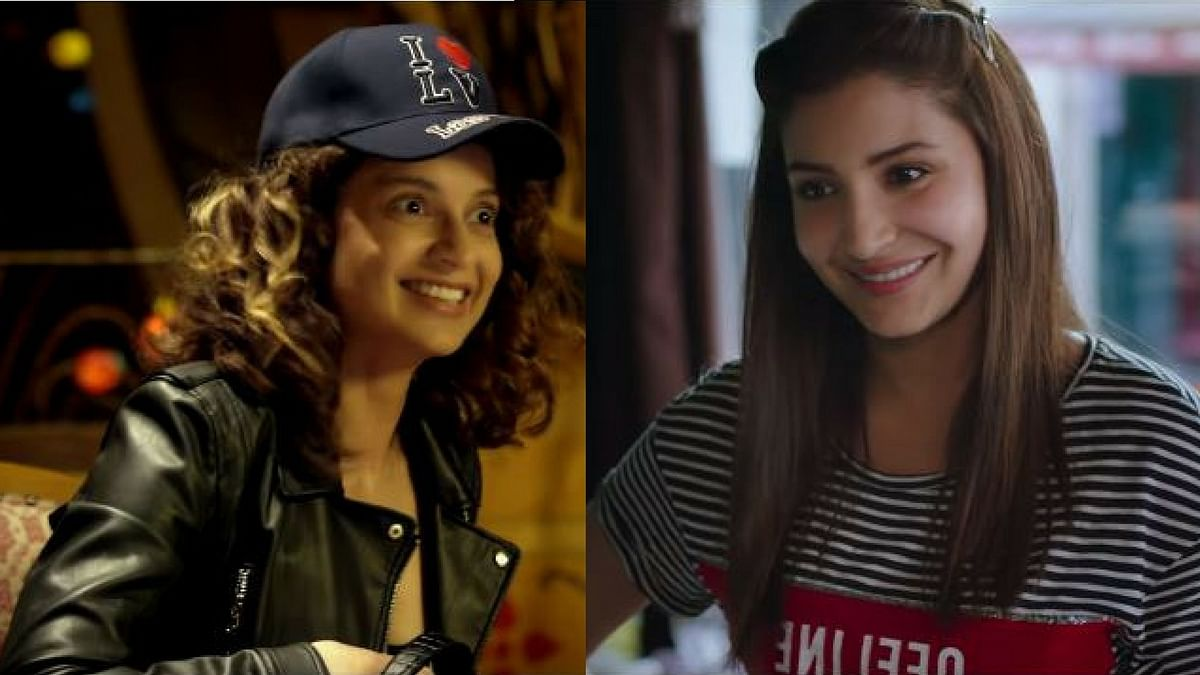 Anushka and Kangana play Gujarati characters in <i>Jab Harry Met Sejal</i> and <i>Simran</i>.