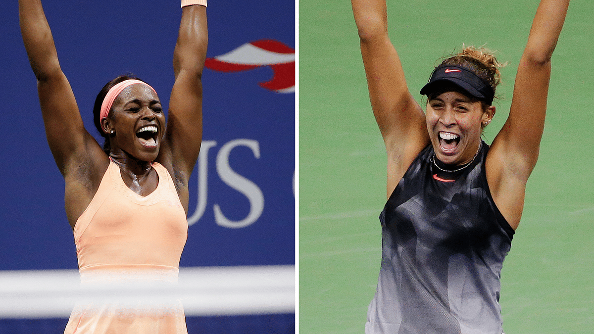 Sloan Stephens and Madison Keys will face each other in the US Open women's final on Saturday.