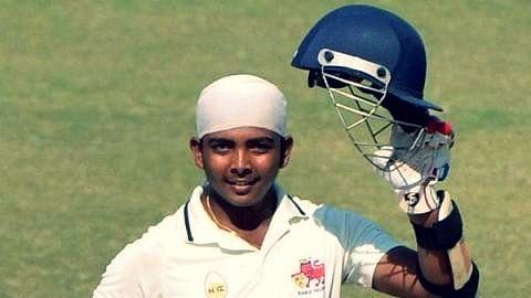File photo of Prithvi Shaw.