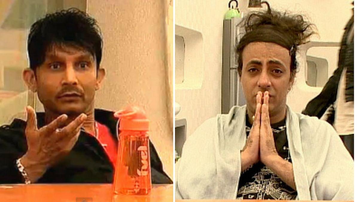 KRK and Rohit Verma.