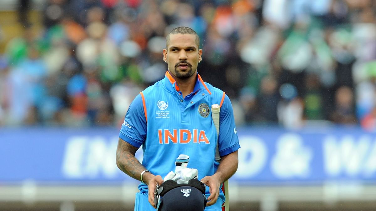 Opener Shikhar Dhawan was back amongst the runs with a brisk 52 off 43 balls.