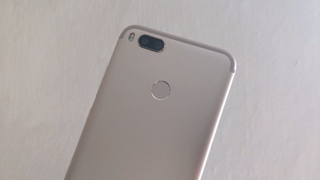 That's the Xiaomi MiA1 Android One phone.