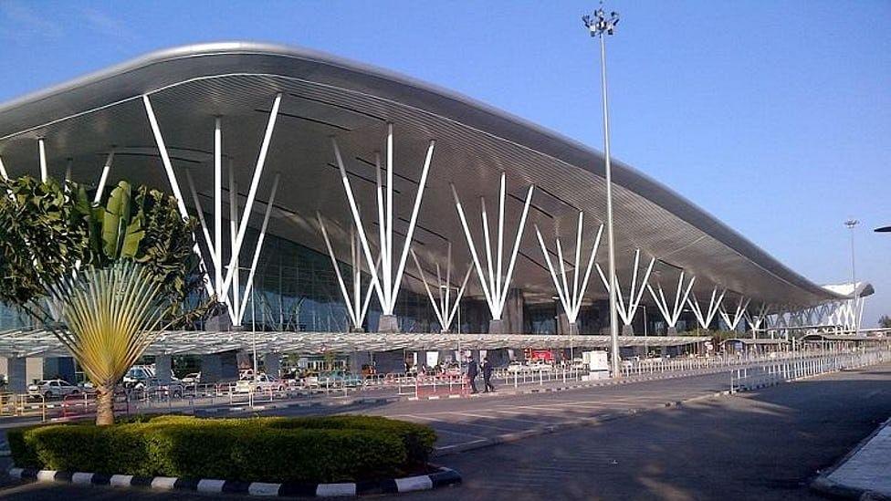 Kempegowda International Airport, Bengaluru. <i>(Photo: <b>The Quint</b>)</i>