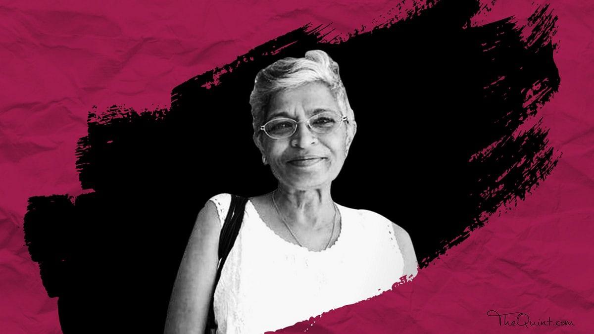 File image of slain journalist Gauri Lankesh.
