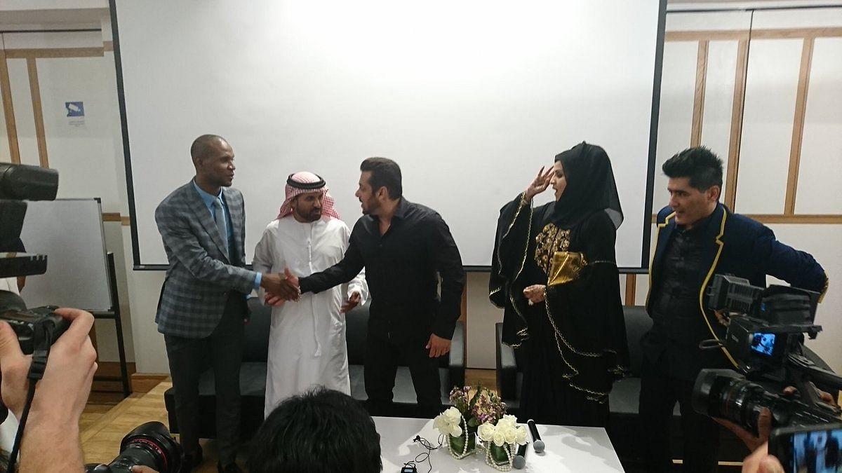 Salman launches driving school in Dubai.