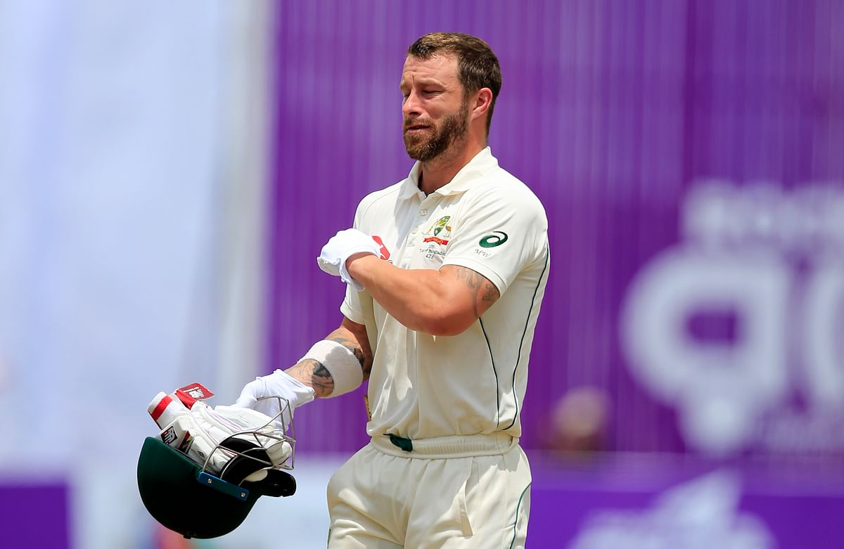 Matthew Wade during Australia's recently concluded tour of Bangladesh.