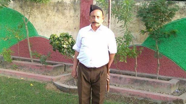 RSS leader Ravinder Gosai. <i>(Photo: ANI)</i>