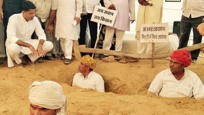 Sachin Pilot Backs Nindar Farmers, Calls BJP Govt 'Insensitive'