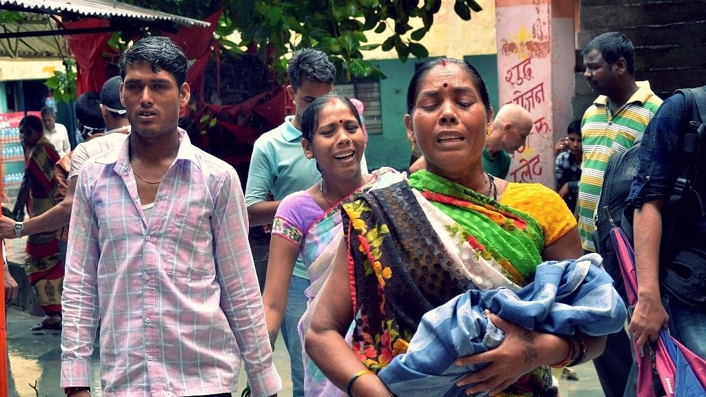 69 children have died at Gorakhpur's BRD hospital in the last 4 days.