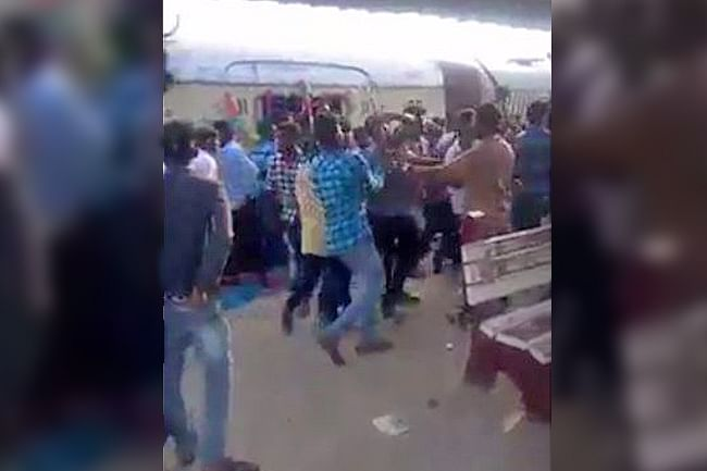 Videos of Students With Knives at Stations Surface, 4 Arrested