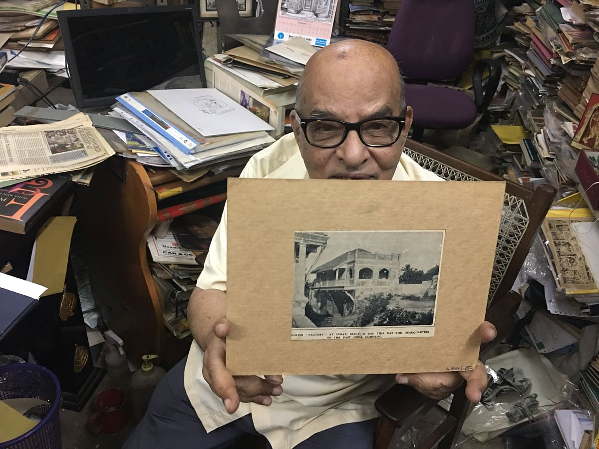 Govindaraju's latest obsession is collecting vintage advertisements. He takes the painstaking effort to cut each one of them and laminate so as to present it when the rightful buyer comes along.