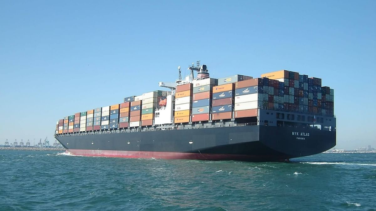 A cargo ship. Image used for representational purposes.