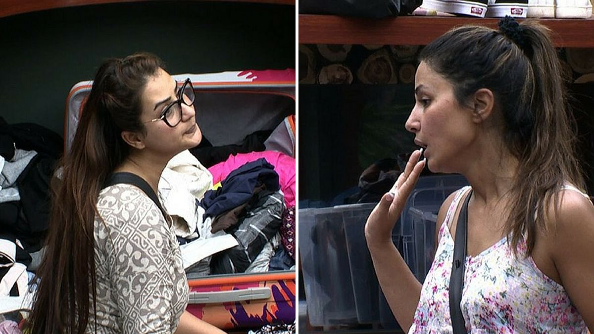 Shilpa Shinde and Hina Khan's cat-fight mode on.