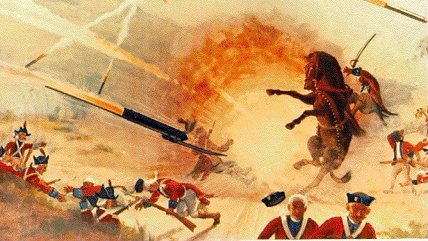 Mysore rockets, developed and deployed by Tipu Sultan's army during the Anglo-Mysore wars, was one of the first weaponised metal rockets.