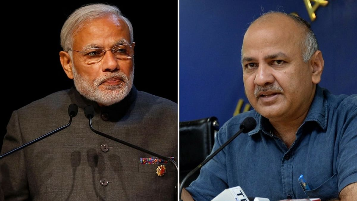 """AAP leader Manish Sisodia claimed the PM presented the """"facts wrongly"""" when he spoke on the GDP slowdown on Wednesday."""