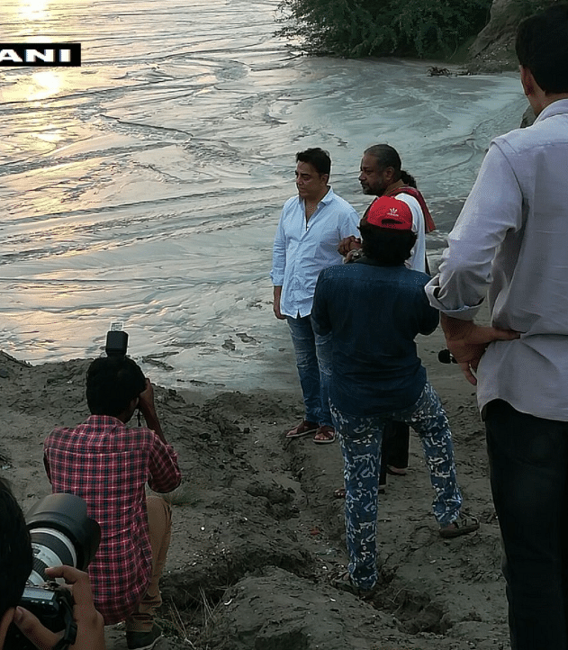 Kamal Haasan visited the Ennore creek and criticised the government for their inaction to remove encroachments and warned North Chennai could be flooded even if there are normal rains like last year.