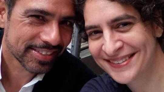 Robert Vadra posted a picture with Priyanka Gandhi on her birthday on 11 January.