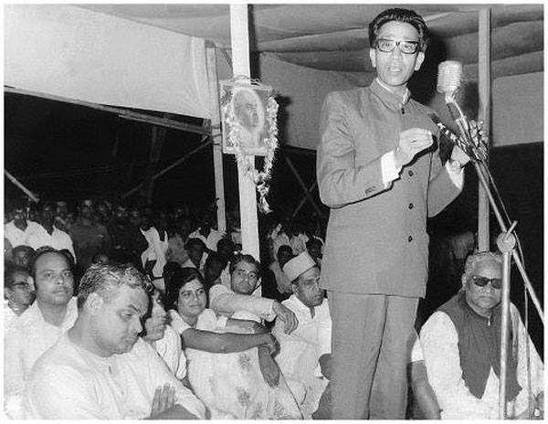 Keshav Sitaram Thackeray, leader of the Samyukta Maharashtra Movement.