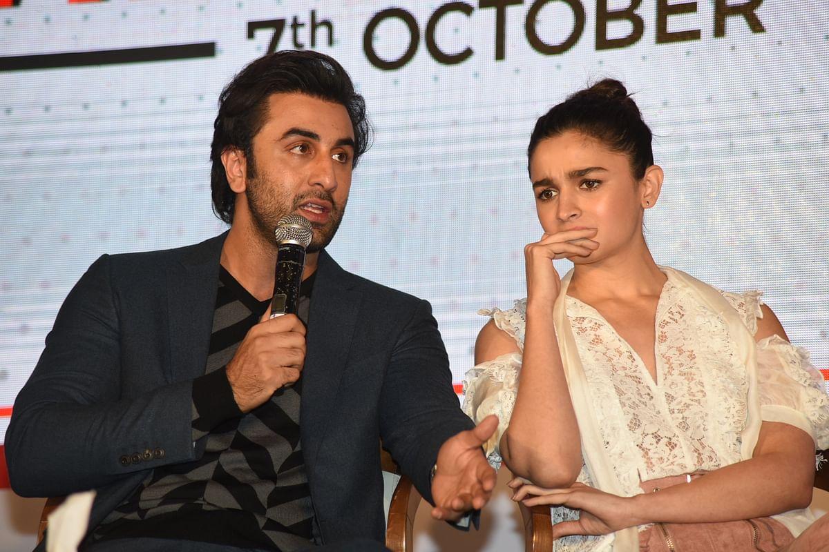 Ranbir and Alia on nepotism.