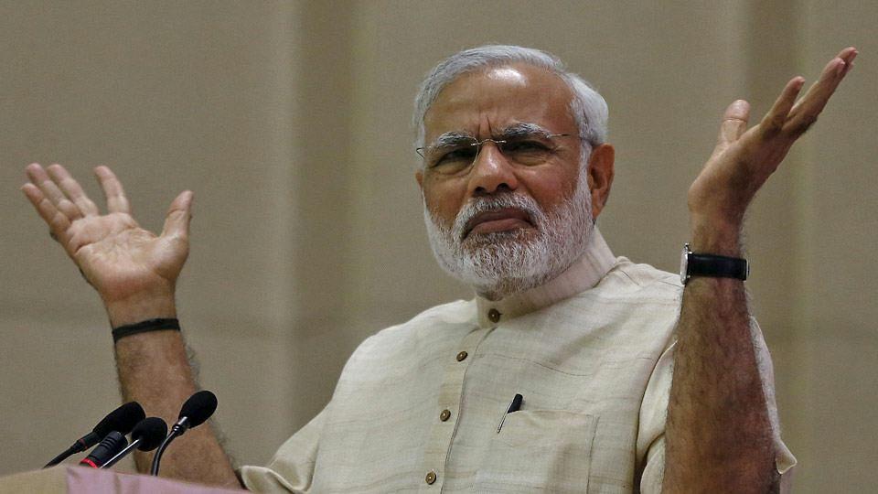 File photo of Narendra Modi.