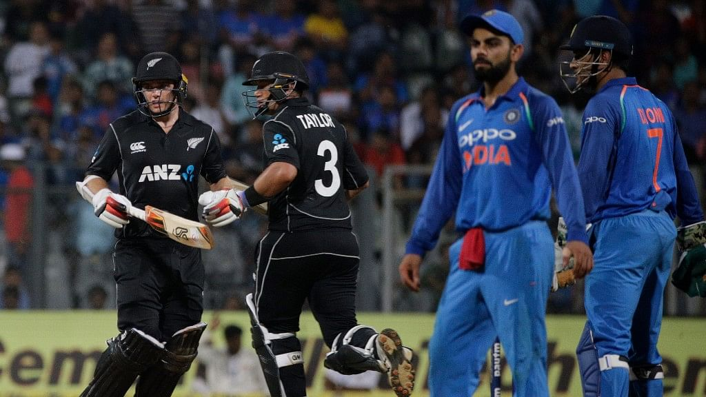India vs New Zealand one day international.