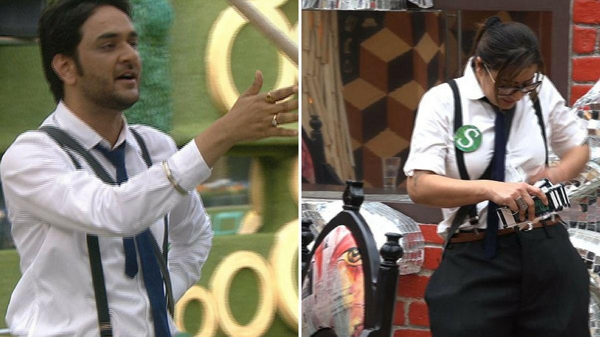 Vikas Gupta and Shilpa Shinde fight over the <i>Bigg Boss 11 </i>luxury budget task.&nbsp;