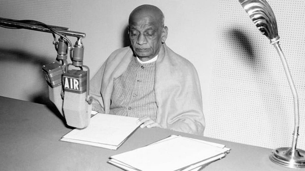 Sardar Patel on All India Radio, 14 November 1949, appealing for cooperation with government in tiding over then economic crisis.