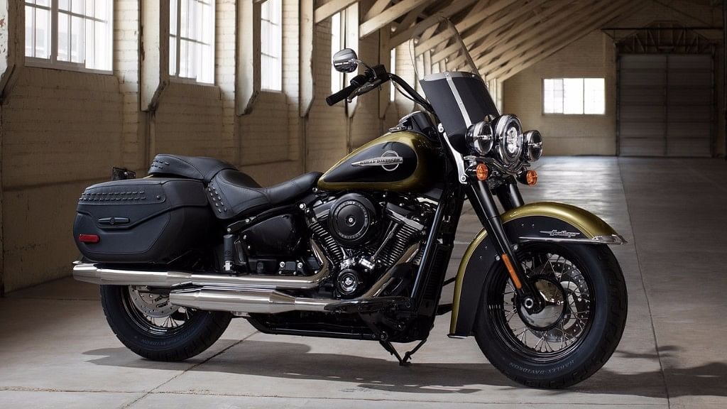 The Heritage Classic is the most expensive offering in the softail lineup