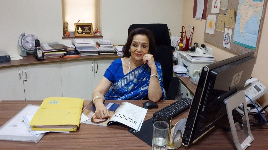 Asha Parekh at her hospital, a passion project that she's been trying to keep alive.
