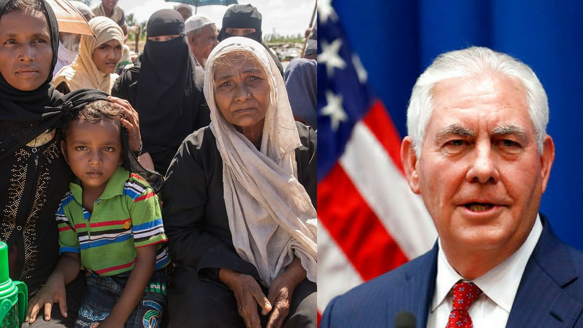 US Worried About Rohingya Muslim Crisis: Tillerson to Myanmar Army
