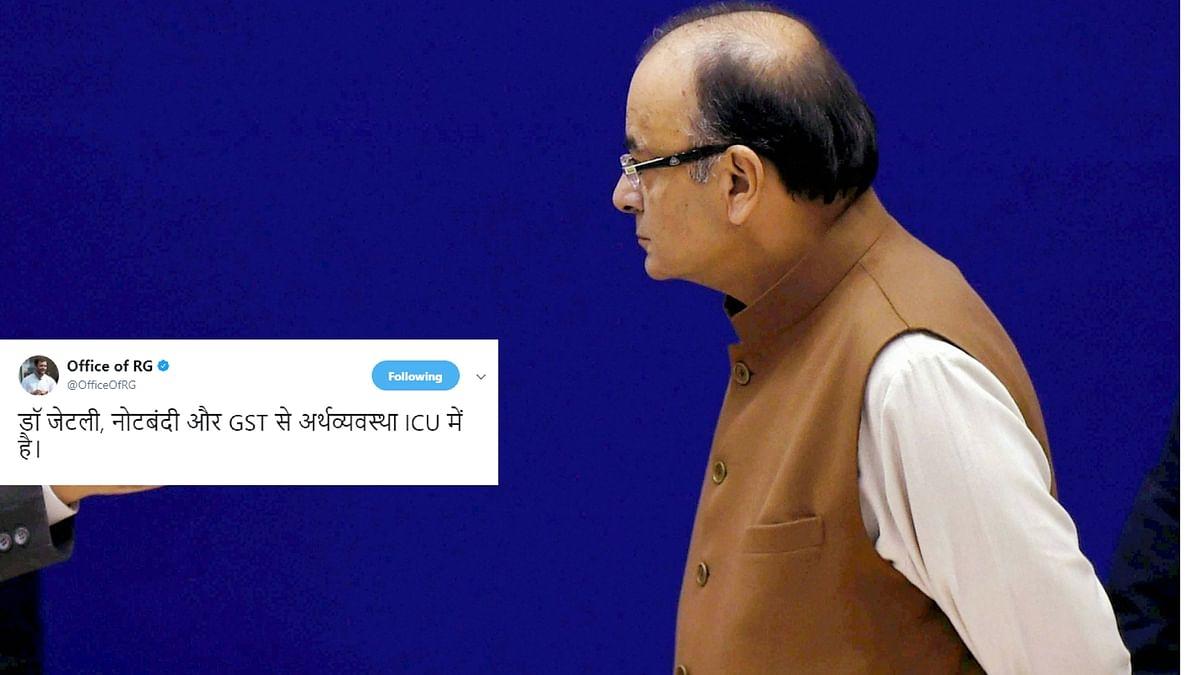 'Aapki Dava Mein Dum Nahi': Rahul Takes Down  FM, Again