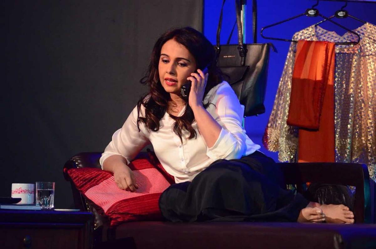 A still from Suchitra Krishnamoorthi's theatre debut 'Drama Queen.'