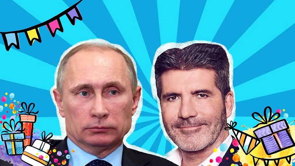 On the list are Vladimir Putin and Simon Cowell!